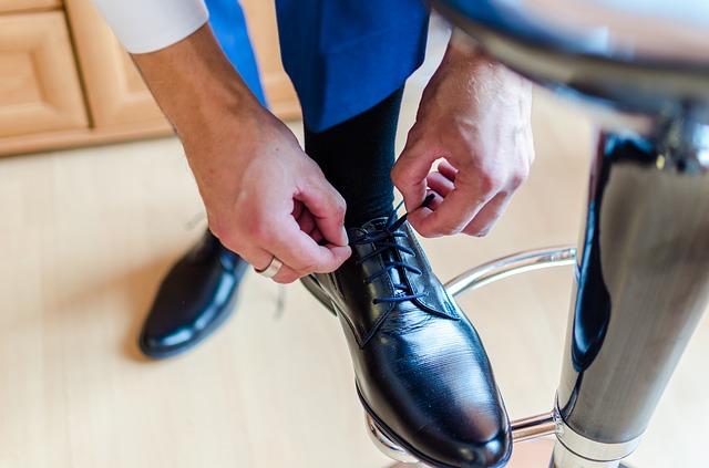 靴選びの画像