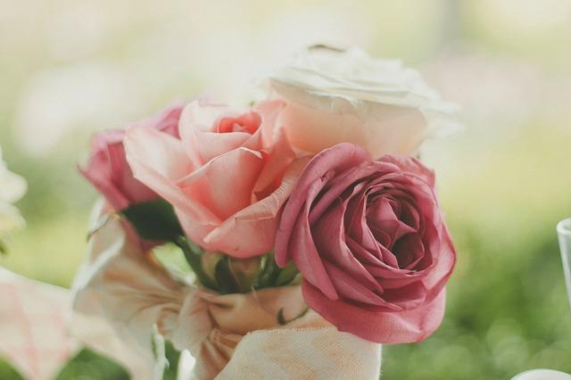 祝いの花束画像