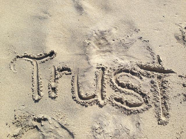 信用されるイメージ画像
